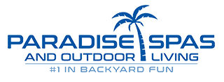 Paradise Spas and Outdoor Living's Company logo