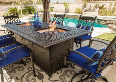 Patio Furniture and Fire pits for your backyard fun!