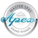 apex-award-winner for hot tubs and swim spas