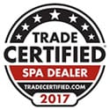 Certified Spa dealer for hot tubs and spas
