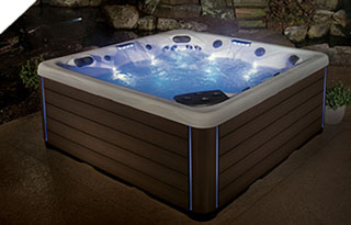 dream lighting for hot tubs