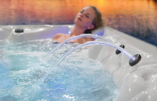 quiet-flow-system for hot tubs