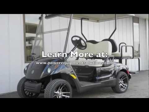 2013 Yamaha Gas-EFI Golf Cart DELUXE STREET READY, Maroon Metallic: $7,695.00