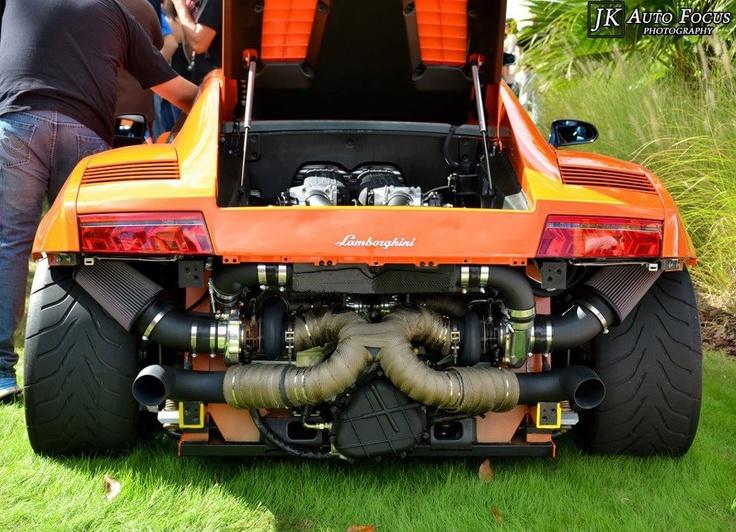 2013 Yamaha Gas Golf Cart, Lambo Green Orange Crush: $6,695.00