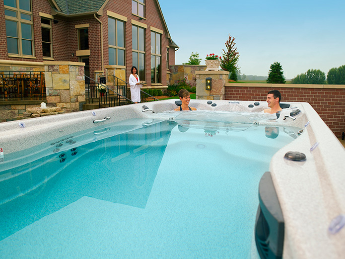 The Michael Phelps Signature Swim Spas by Master Spas  | Austin TX