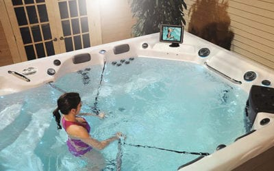 Benefits of Aquatic Fitness in a MasterSpas Swim Spa; Austin TX